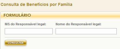 Consulta Bolsa Familia pela internet