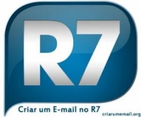 Criar um email no R7