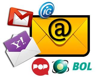 Como criar um email