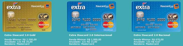 Cartão Extra - Itaucard