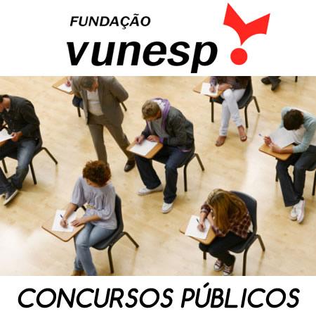 Vunesp Concursos 2015 – Inscrições e Editais
