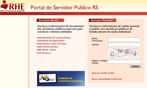 Portal do Servidor RS