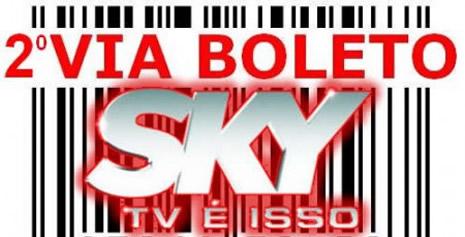 Sky - Boleto - Segunda Via
