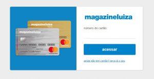 Segunda via cartão de crédito Magazine Luiza