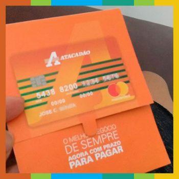 Fazer cartão de crédito Atacadão