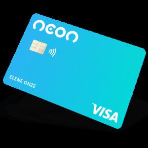 cartão de crédito neon